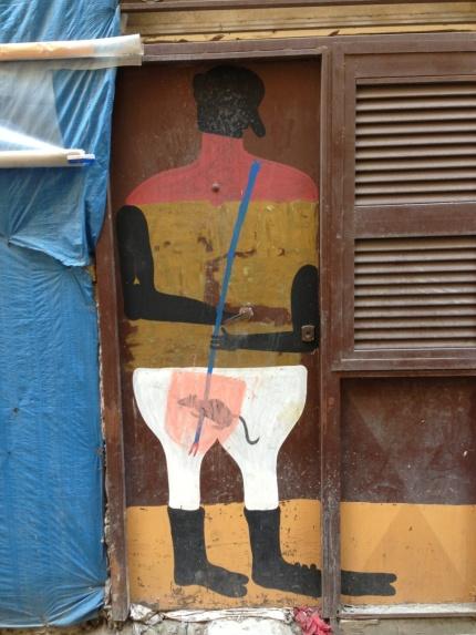 Ciro's unexpected murals in the Spagnoli district