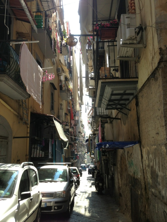 Strolling in the Spagnoli district