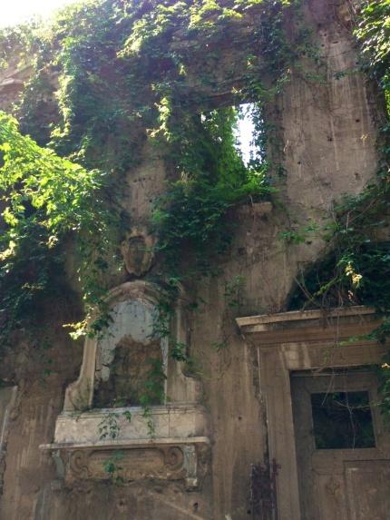 Dilapidated grandeur